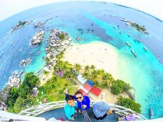 Stamp #660 - Indonesia : Lighthouse Views     Lengkuas Island in Belitung Indonesia is an oasis!  Its no so far from the city just 30 minute to Tanjung Kelayang Dock  20 minute by traditional boat rent. At the island we will find a Lighthouse since 1882 just pay 5.000 IDR/person. And we can buy coconut some drink etc. Enjoy the beach like your own  Thank you @beautifulbelitung for your #ShareYourStamp!!  For more awesome #travel and #wanderlust tips and #adventure download the Stamp Travel…