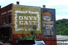 Old-Time Brick Wall Advertising - Eureka Springs, Arkansas by danjdavis, via Flickr