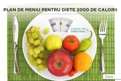 Daca v-ati propus sa urmati o dieta de 2000 de calorii, ceea ce trebuie sa stiti este faptul ca aceste planuri alimentare nu trebuie urmate o data la 2 zile, ci in fiecare zi. Totodata, este recomandat sa incercati sa mentineti un echilibru in ceea ce priveste alimentatia dumneavoastra, incluzand o varietate cat mai mare de alimente. http://www.i-medic.ro/diete/plan-de-meniu-pentru-diete-2000-de-calorii