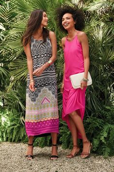 Whether you're headed to work or chilling with your besties, it's easy to make your look pop with a bright, stylish maxi dress. This Sleeveless Hi-Lo Maxi Dress and our global-inspired Graphic-Print Chiffon Maxi are two of our favorites, but we've got plenty to choose from. Shop Old Navy to find a dress to match your summer mood.