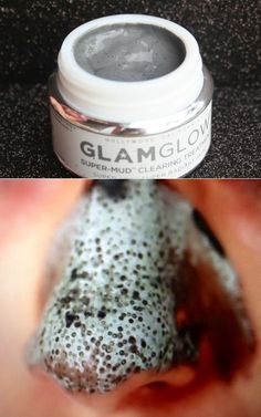 A mask that basically sucks your pimples  blackheads out...where was this when I had terrible skin?!
