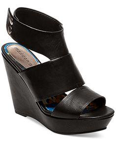 Madden Girl Kilter Platform Wedge Sandals in Cognac ($59)