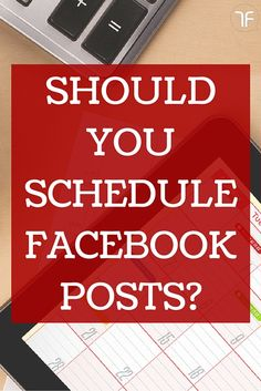 Social Media Strategies -- and if you should schedule facebook posts. Find out why you NEED to start today!