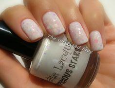Aphrodite Lacquers Inauspicious Stars - white glitter and jelly <3