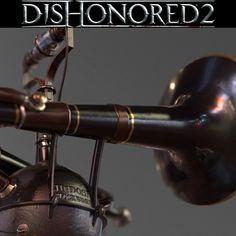 Alarm Bell Dishonored 2, Eric Pira on ArtStation at https://www.artstation.com/artwork/Lb99v