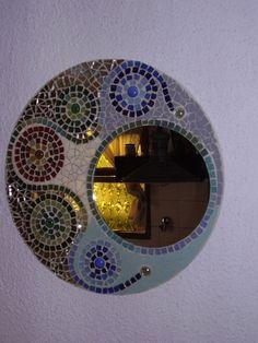 Espejo artesanal - General Pueyrredón - Objetos de decoración ...