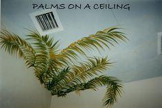 PALMS CEILING  Www.facebook.com/JenniferMatthewsArt