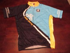 Mint EUC Squadra Mens Sweet Ride Strong Bike Cycling Jersey Relaxed Fit Sz L #Squadra