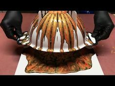 Fluid Painting Acrylic Colander Pour? Please Share and Subscribe.. - YouTube