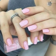 63 Trendy Nail Art Ideas For Toes Colour Shellac Nails, Manicure And Pedicure, Pink Nails, Toe Nails, Acrylic Nails, Nail Polish, Pedicure Ideas, Acrylics, Trendy Nail Art