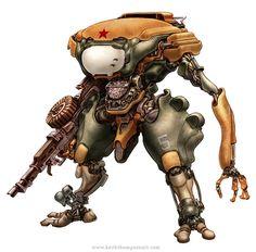 Robots: Prosthetic Commando by Keith Thompson