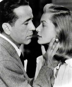 Classic Hollywood Couple. Bogie & Bacall