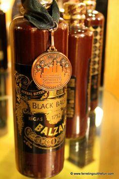 Riga Black Balsam, an award winning liquor produced in Riga, Latvia.