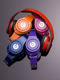 Beats by Dr. Dre Studio - New Colors! #headphones. Zade wants these so bad but I just bring myself to pay 200.00 for headphones.