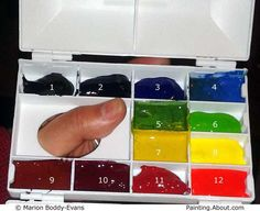 Use this Step by Step Selecting Watercolors: My Personal Choice of Colors