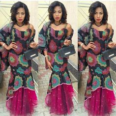 Latest Ankara Styles And Lace Designs  For Wedding - Gowns Styles In Nigeria