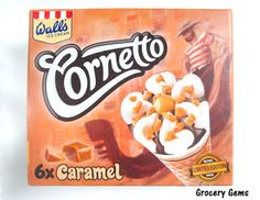 Grocery Gems: Review: Cornetto Caramel - Limited Edition Retro Pack