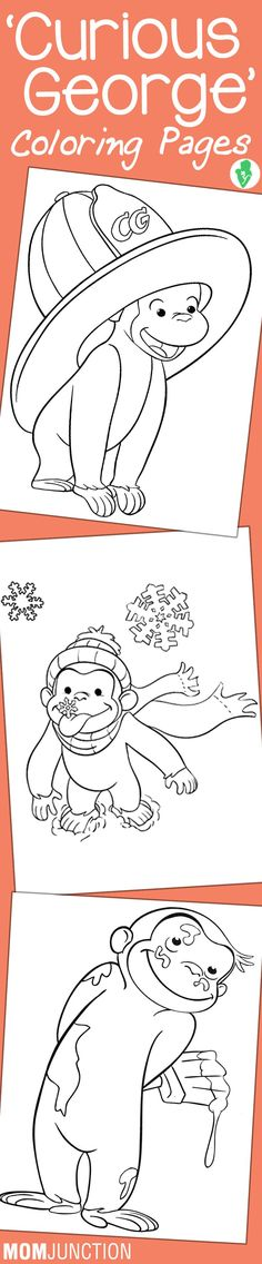 15 free printable curious george coloring pages.html