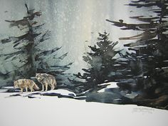 Mort Solberg | WATERCOLOR