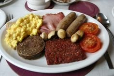 Now that's a breakfast for any Scotsman!