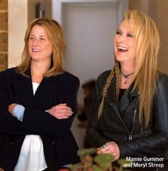 """Co staring with her daughter Mamie Gummer in """"Ricki and the Flash"""" (2015)"""