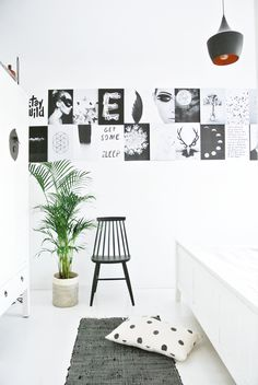 My Attic: Urban Jungle Bloggers: Cosy and Green bedroom
