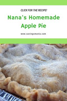 Inspired by Betty Crocker, Nana makes the BEST apple pie!             Pastry   2…