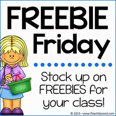 Fern Smith's Freebie Fridays! Stock up on #Freebies for your class! #Free