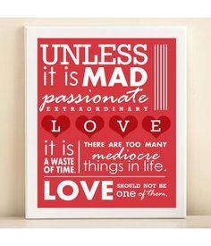 Mad, passionate & extraordinary ❤️