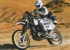 Suzuki-Seite der Rallye-Tenere-Seite