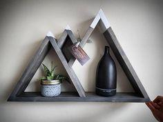 Ladder Shelf Diy, Frame Shelf, Diy Frame, Wall Shelves, Shelving, Diy Wood Projects, Wood Crafts, Woodworking Projects, Diy And Crafts