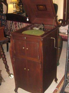 Antique 1919 Brunswick 117 Victrola Phonograph Record