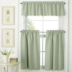 Window & Home Decor, Bedding, Clothing & Accessories Above Cabinet Decor, Kitchen Window Curtains, Kitchen Decor, Kitchen Ideas, Kitchen Sink, Retro Chic, Duvet Sets, New Room, Drapes Curtains