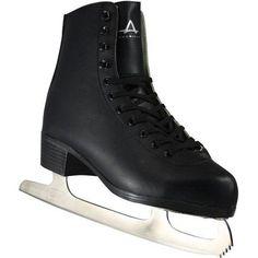 American Men's Tricot-Lined Figure Skates, Black