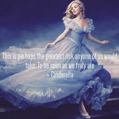 Image about disney in Cinderella / Richard madden and lily James by Alyssa Masters Cinderella Quotes, Cinderella 2015, Disney Princess Quotes, Cinderella Movie, Fairytale Quotes, Disney Love, Disney Magic, Disney Stuff, Risk Quotes