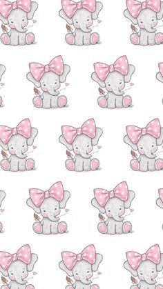 Baby Elephant Drawing, Grey Elephant, Cute Elephant, Elephant Party, Elephant Nursery, Baby Shawer, Baby Scrapbook, Disney Wallpaper, Baby Elephants