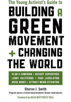 The Brower Youth Awards honor some of the best activists in America. Not just the best young activists—but the best activists, period. They have a lot to teach us in this book! --Bill McKibben, author