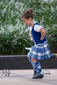 Kilt with royal blue vest #MacGregor #Royal #Tartan
