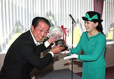 Princess Yoko, October 16, 2014 | Royal Hats..... Posted on October 17, 2014 by HatQueen....Princess Yoko of Mikasa was in Toyama for a series of engagements yesterday. She began in Oyabe City, presenting the awards from the 16th Welfare Golf Tournament.