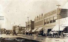 Ki-He-Kah St., Looking S., Pawhuska, OK - County Seat