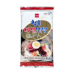 Shop Wang Korean style buckwheat noodle online from Asia Market. This product uses sesame oil instead of soybean oil used in a different variety. Vermicelli Noodles, Asian Noodles, Soba Noodles, Buckwheat Noodles, Korean Dishes, Food Staples, Korean Style, A Food, Korean Fashion