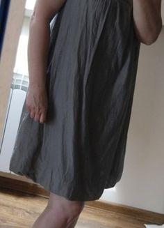 Kup mój przedmiot na #vintedpl http://www.vinted.pl/damska-odziez/dlugie-sukienki/18440884-sukienka-khaki-ze-zdobieniami-jedwab-i-bawelna