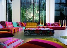 Mah Jong Sofa by Roche Bobois!! Dreamy!! Love it!