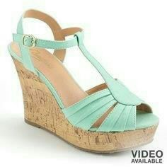 Mint Candies Wedges 9.5