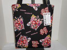 Betty Boop Girl Power Cotton OOP Fabric Handmade Handbag Shopper Tote New  #Handmade #TotesShoppers www.stores.ebay.com/momshandmadecrafts