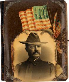 Rough Riders, Theodore Roosevelt, Historian, Victorian Era, Auction, Hero, Album, Artwork, Painting