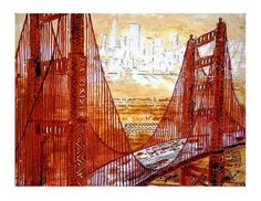 I Left my Heart in San Francisco Print 85x11 Free by ArtCalifornia,
