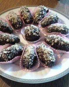 Greek Sweets, Greek Desserts, Greek Recipes, Vegan Recipes, Cooking Recipes, Fudge, Food To Make, Sweet Tooth, Deserts