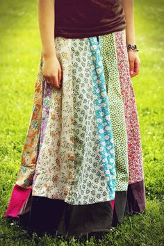 Patchwork Prarie Skirt
