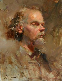 'Musician' - Oil on canvas 2009 HSIN-YAO TSENG Fine Art - Portrait
